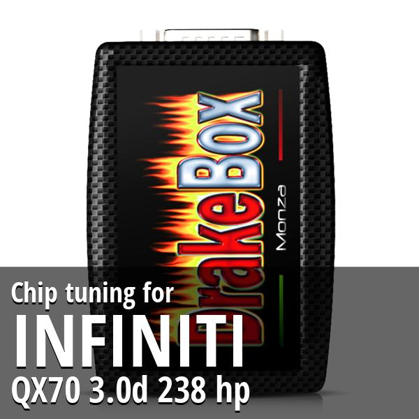 Chip tuning Infiniti QX70 3.0d 238 hp