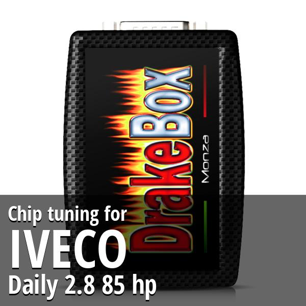 Chip tuning Iveco Daily 2.8 85 hp