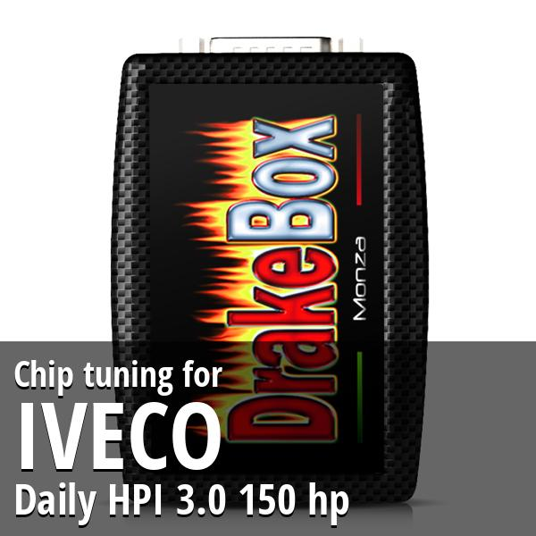 Chip tuning Iveco Daily HPI 3.0 150 hp