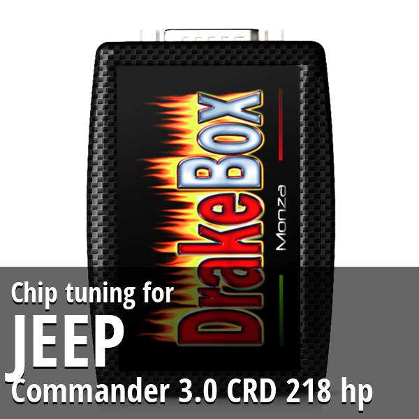 Chip tuning Jeep Commander 3.0 CRD 218 hp
