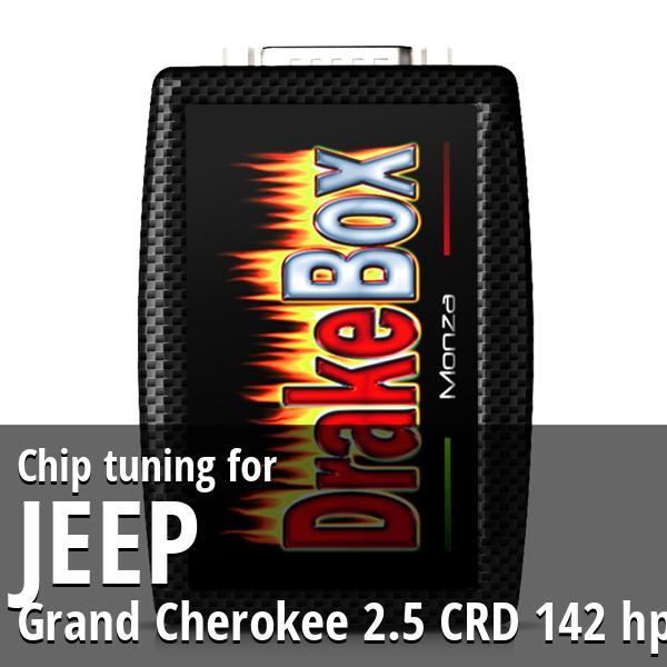 Chip tuning Jeep Grand Cherokee 2.5 CRD 142 hp