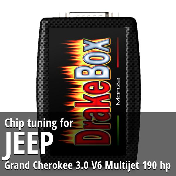 Chip tuning Jeep Grand Cherokee 3.0 V6 Multijet 190 hp