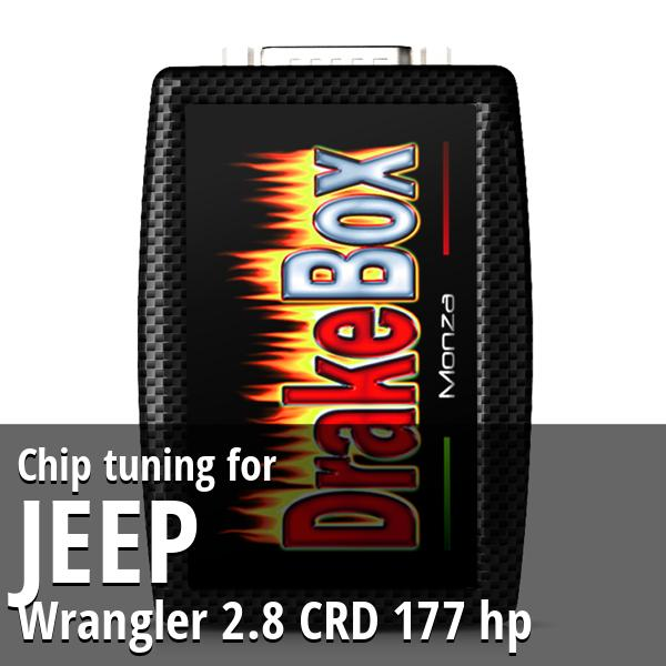 Chip tuning Jeep Wrangler 2.8 CRD 177 hp