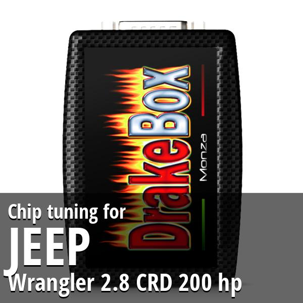 Chip tuning Jeep Wrangler 2.8 CRD 200 hp