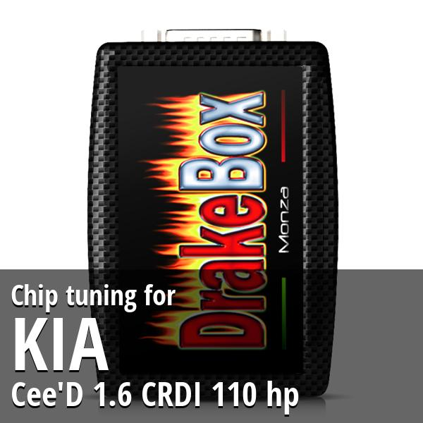 Chip tuning Kia Cee'D 1.6 CRDI 110 hp