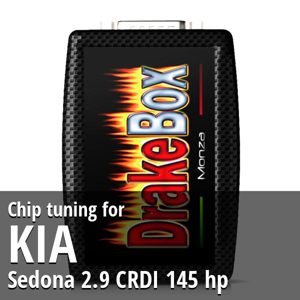 Chip tuning Kia Sedona 2.9 CRDI 145 hp