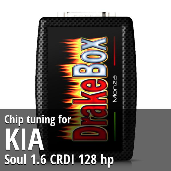 Chip tuning Kia Soul 1.6 CRDI 128 hp