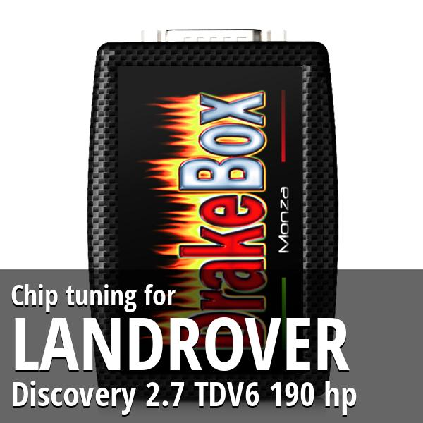 Chip tuning Landrover Discovery 2.7 TDV6 190 hp