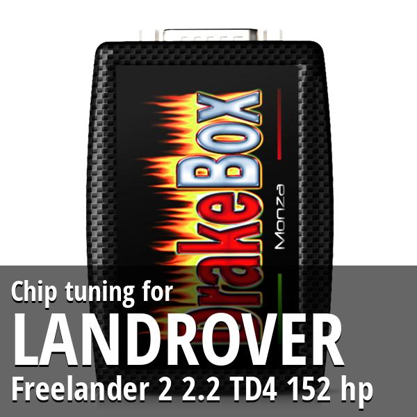 Chip tuning Landrover Freelander 2 2.2 TD4 152 hp