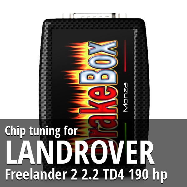Chip tuning Landrover Freelander 2 2.2 TD4 190 hp