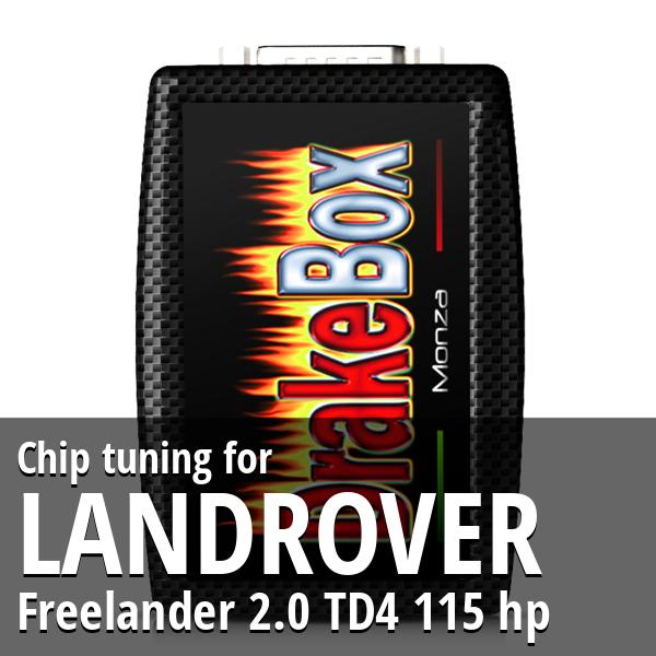 Chip tuning Landrover Freelander 2.0 TD4 115 hp
