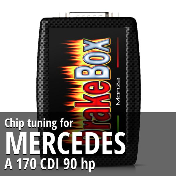 Chip tuning Mercedes A 170 CDI 90 hp
