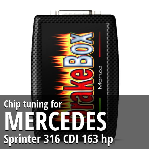 Chip tuning Mercedes Sprinter 316 CDI 163 hp