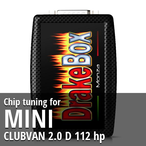 Chip tuning Mini CLUBVAN 2.0 D 112 hp