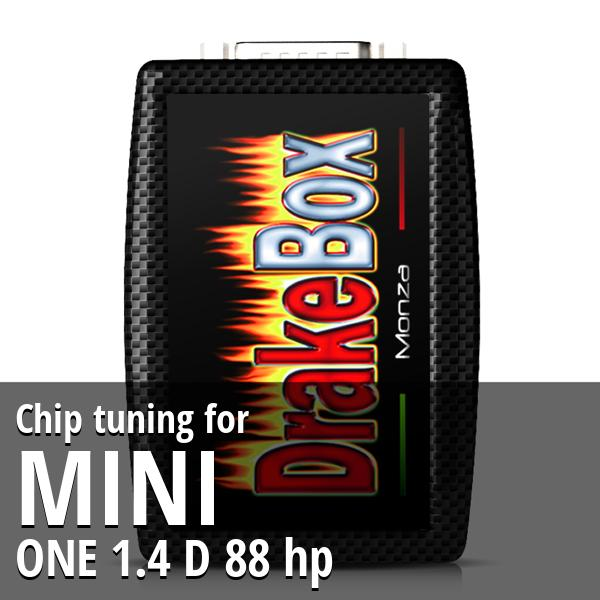 Chip tuning Mini ONE 1.4 D 88 hp