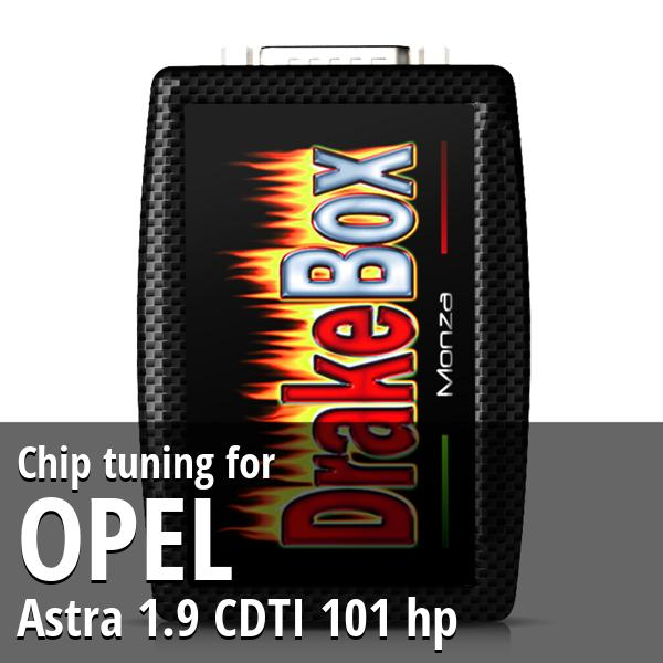 Chip tuning Opel Astra 1.9 CDTI 101 hp