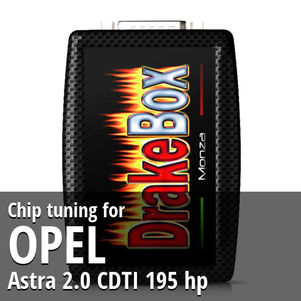 Chip tuning Opel Astra 2.0 CDTI 195 hp