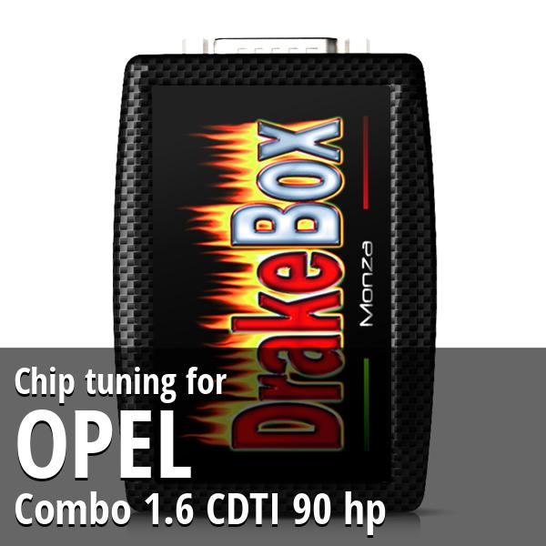 Chip tuning Opel Combo 1.6 CDTI 90 hp