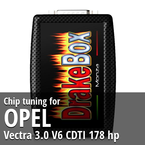 Chip tuning Opel Vectra 3.0 V6 CDTI 178 hp