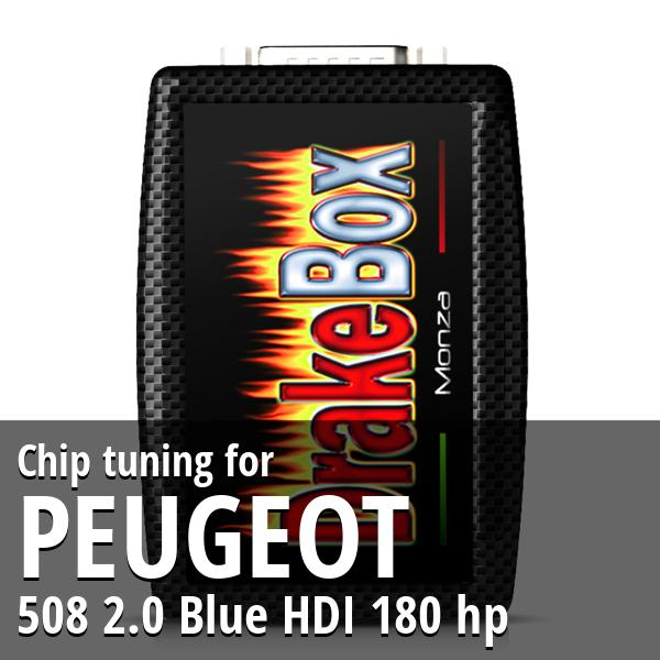 Chip tuning Peugeot 508 2.0 Blue HDI 180 hp