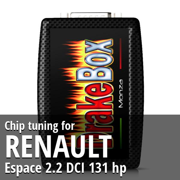 Chip tuning Renault Espace 2.2 DCI 131 hp