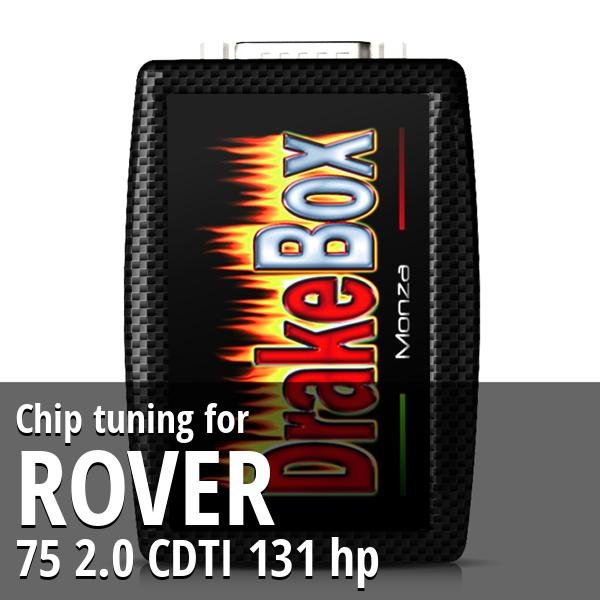 Chip tuning Rover 75 2.0 CDTI 131 hp