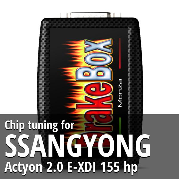 Chip tuning Ssangyong Actyon 2.0 E-XDI 155 hp