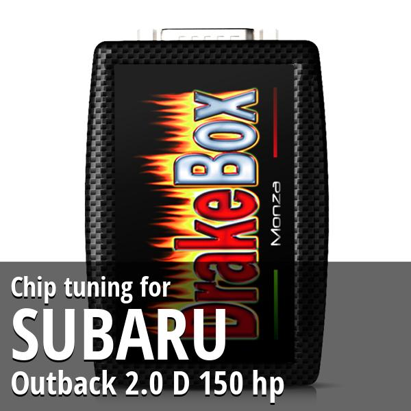 Chip tuning Subaru Outback 2.0 D 150 hp