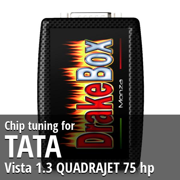 Chip tuning Tata Vista 1.3 QUADRAJET 75 hp
