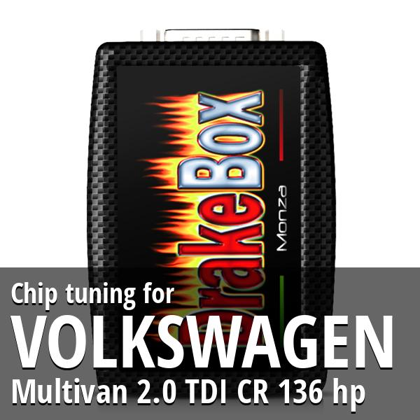 Chip tuning Volkswagen Multivan 2.0 TDI CR 136 hp
