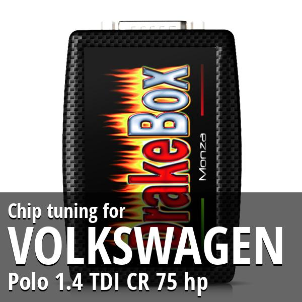 Chip tuning Volkswagen Polo 1.4 TDI CR 75 hp