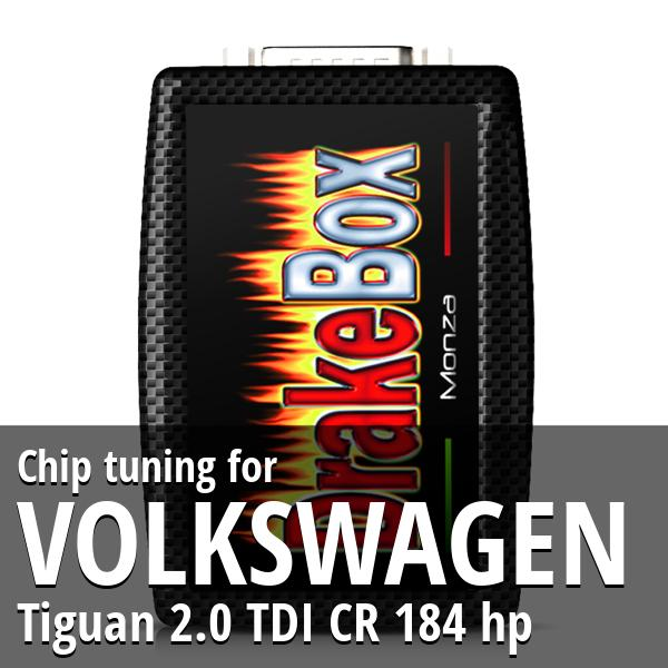 Chip tuning Volkswagen Tiguan 2.0 TDI CR 184 hp
