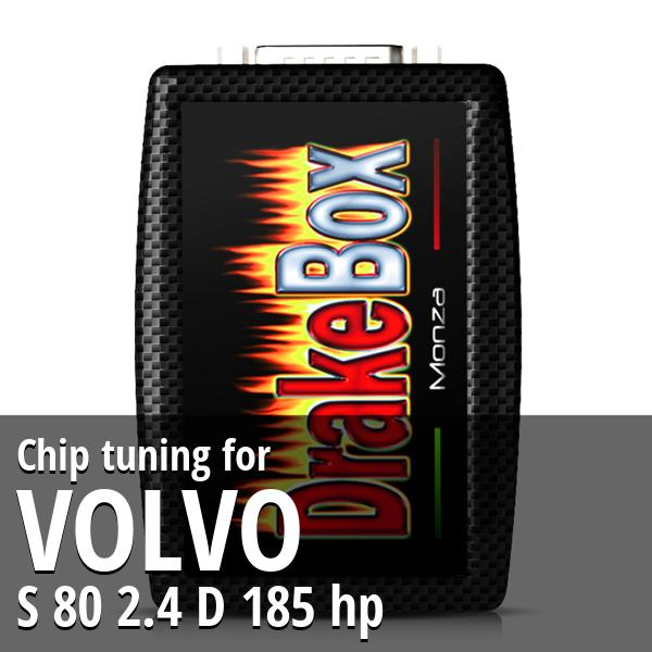 Chip tuning Volvo S 80 2.4 D 185 hp