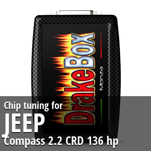 Chip tuning Jeep Compass 2.2 CRD 136 hp