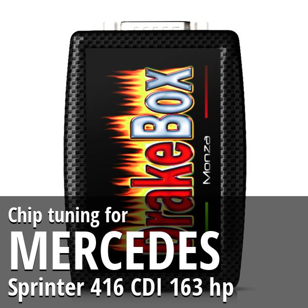 Chip tuning Mercedes Sprinter 416 CDI 163 hp