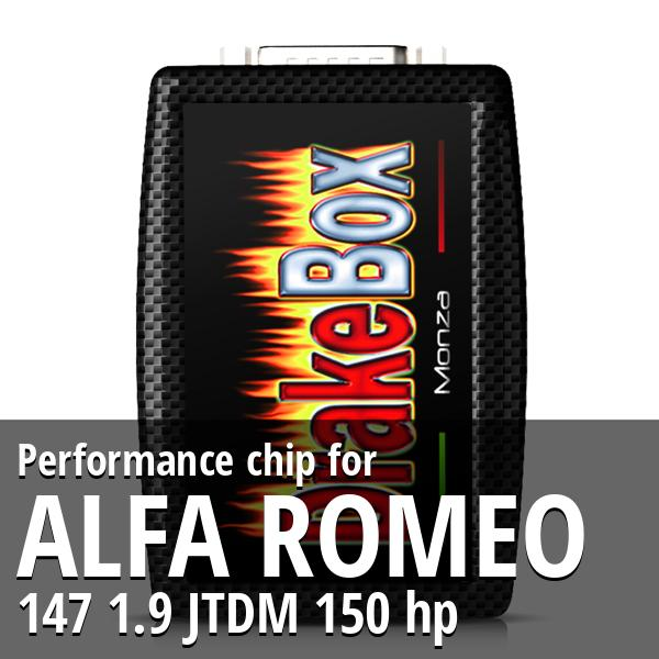 Performance chip Alfa Romeo 147 1.9 JTDM 150 hp