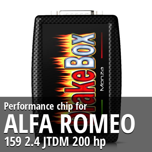 Performance chip Alfa Romeo 159 2.4 JTDM 200 hp
