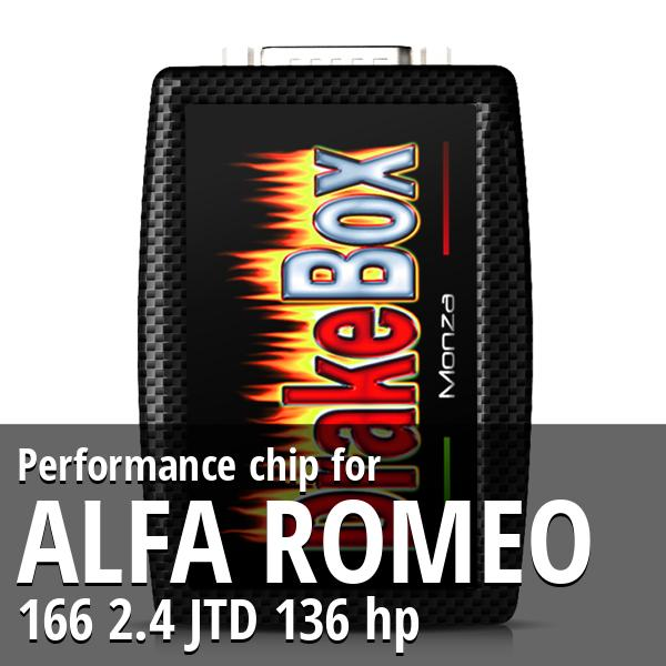 Performance chip Alfa Romeo 166 2.4 JTD 136 hp
