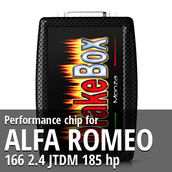 Performance chip Alfa Romeo 166 2.4 JTDM 185 hp