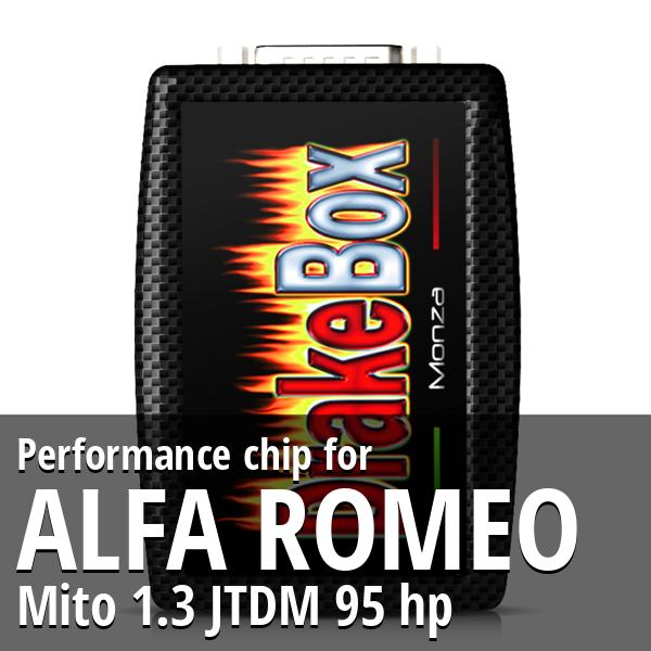 Performance chip Alfa Romeo Mito 1.3 JTDM 95 hp