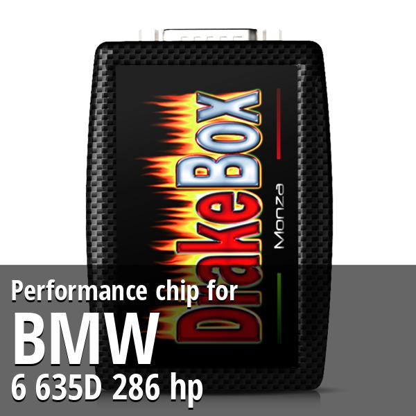 Performance chip Bmw 6 635D 286 hp