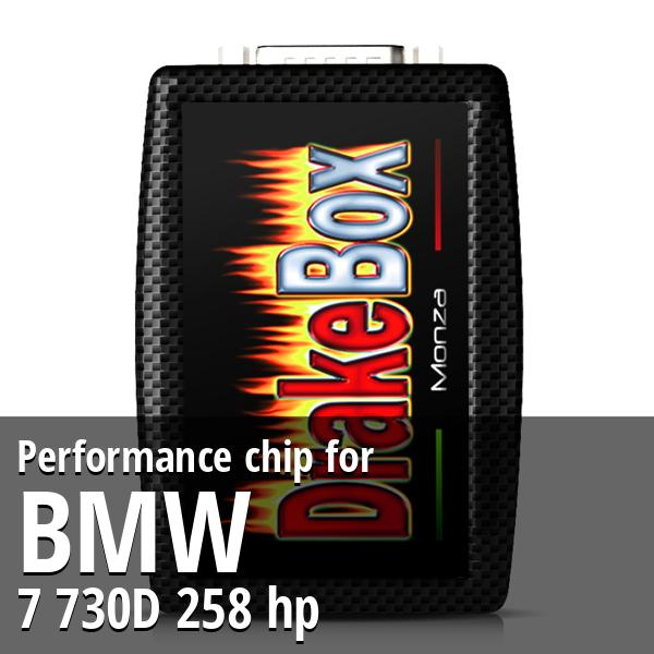 Performance chip Bmw 7 730D 258 hp