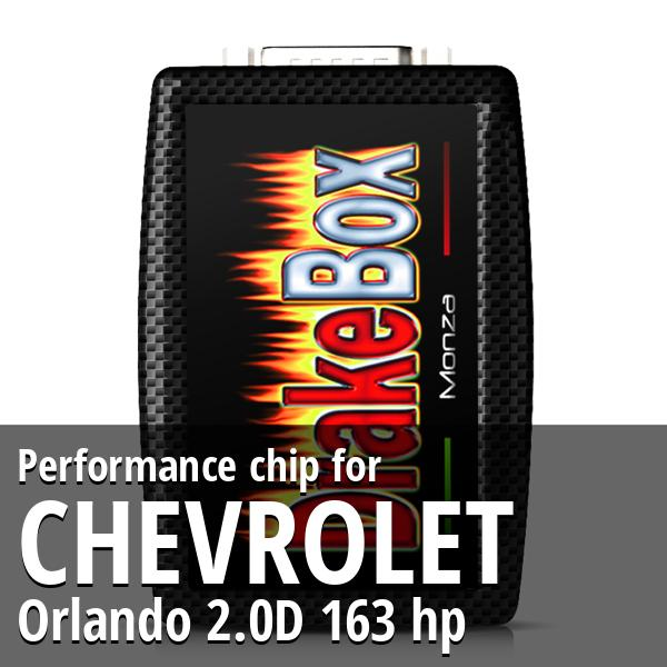 Performance chip Chevrolet Orlando 2.0D 163 hp