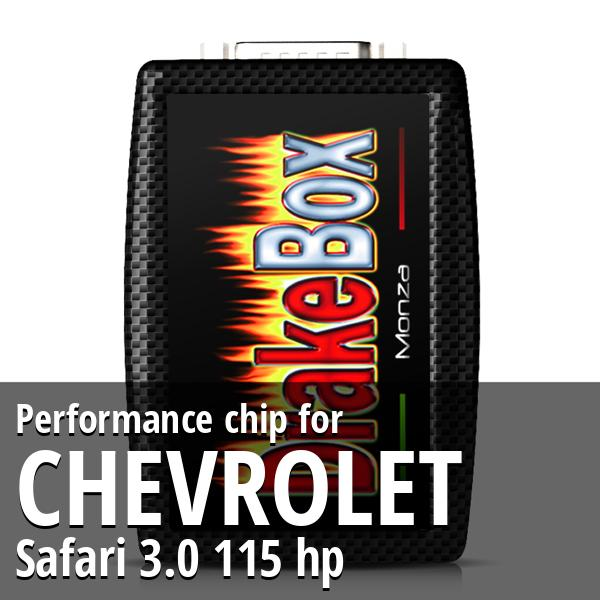 Performance chip Chevrolet Safari 3.0 115 hp