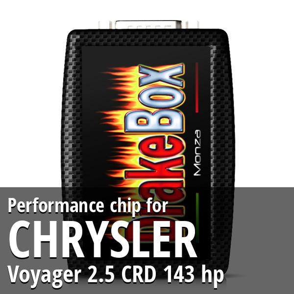 Performance chip Chrysler Voyager 2.5 CRD 143 hp