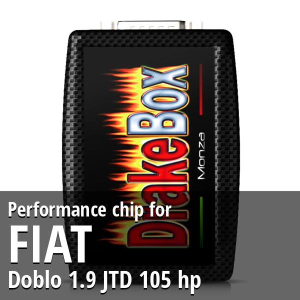 Performance chip Fiat Doblo 1.9 JTD 105 hp