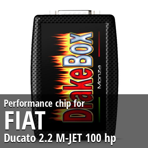 Performance chip Fiat Ducato 2.2 M-JET 100 hp
