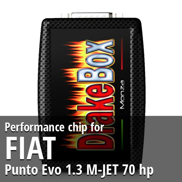 Performance chip Fiat Punto Evo 1.3 M-JET 70 hp