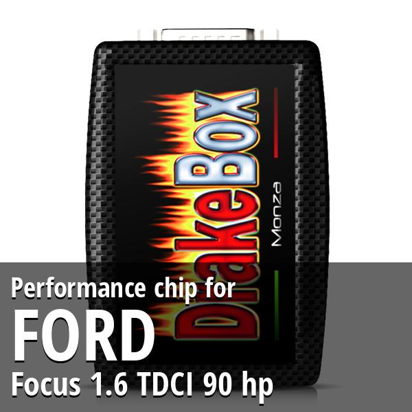 Performance chip Ford Focus 1.6 TDCI 90 hp