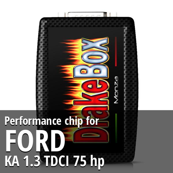 Performance chip Ford KA 1.3 TDCI 75 hp